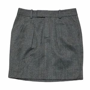 Gap mini skirt size 0 navy grey